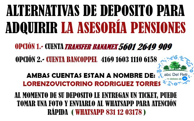 pension-imss - Transfer banamex - Que No Te Engañen Con Tu Pensión