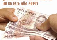 Calcular Cuanto Voy A Invertir En Modalidad 40 año 2019