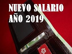 El Nuevo Salario Mínimo 2019