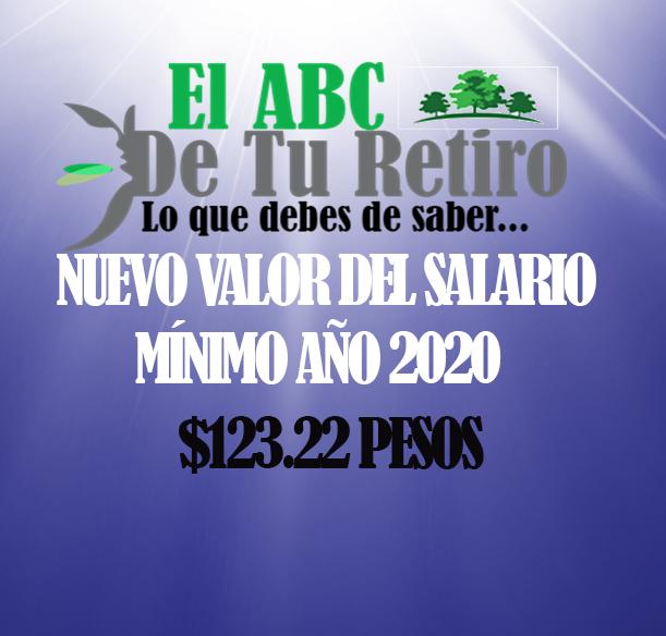 pension-imss - aumento salario minimo año 2020 - Aumenta El Salario Mínimo A $123.22 Para Año 2020
