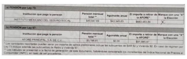 Documento De Elección De Régimen